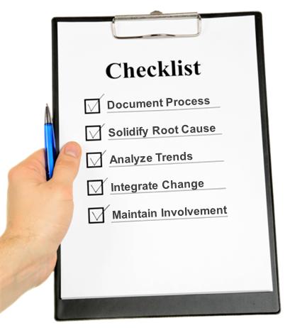 CAPA checklist