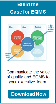 Build the Case for EQMS - Communicate the value of quality and EQMS to your executive team.